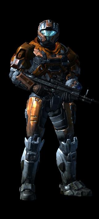 My Halo Reach Armor 3 by FelgrandKnight34