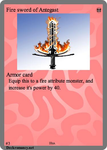 Fire sword of Antegast by FelgrandKnight34
