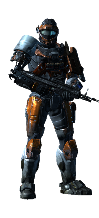 My halo Reach armor 4 by FelgrandKnight34