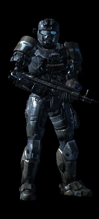 My Halo Reach armor 5 by FelgrandKnight34