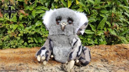[Etsy] Charlie the Owlbear