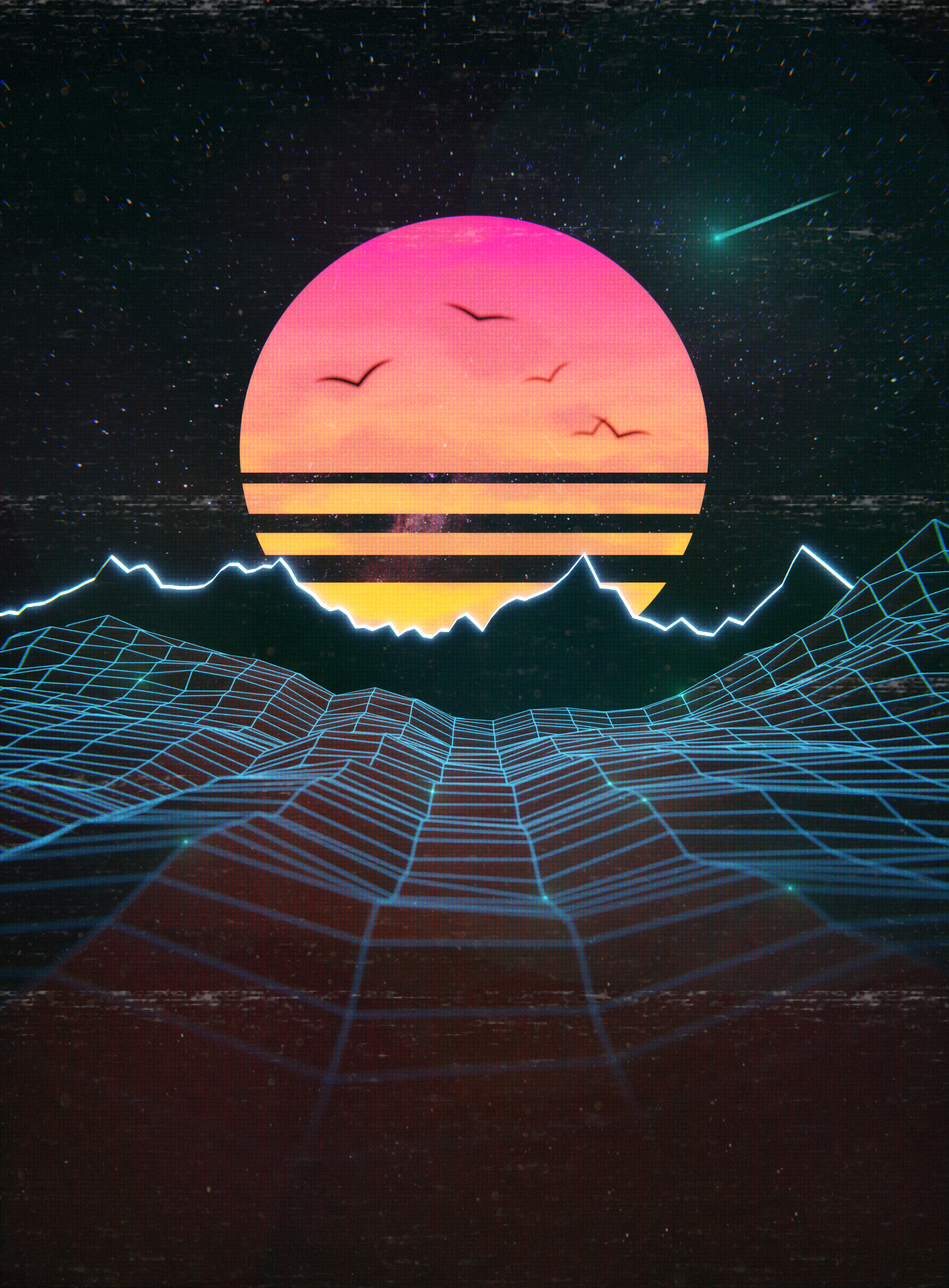 29+ Synthwave Grid  Images