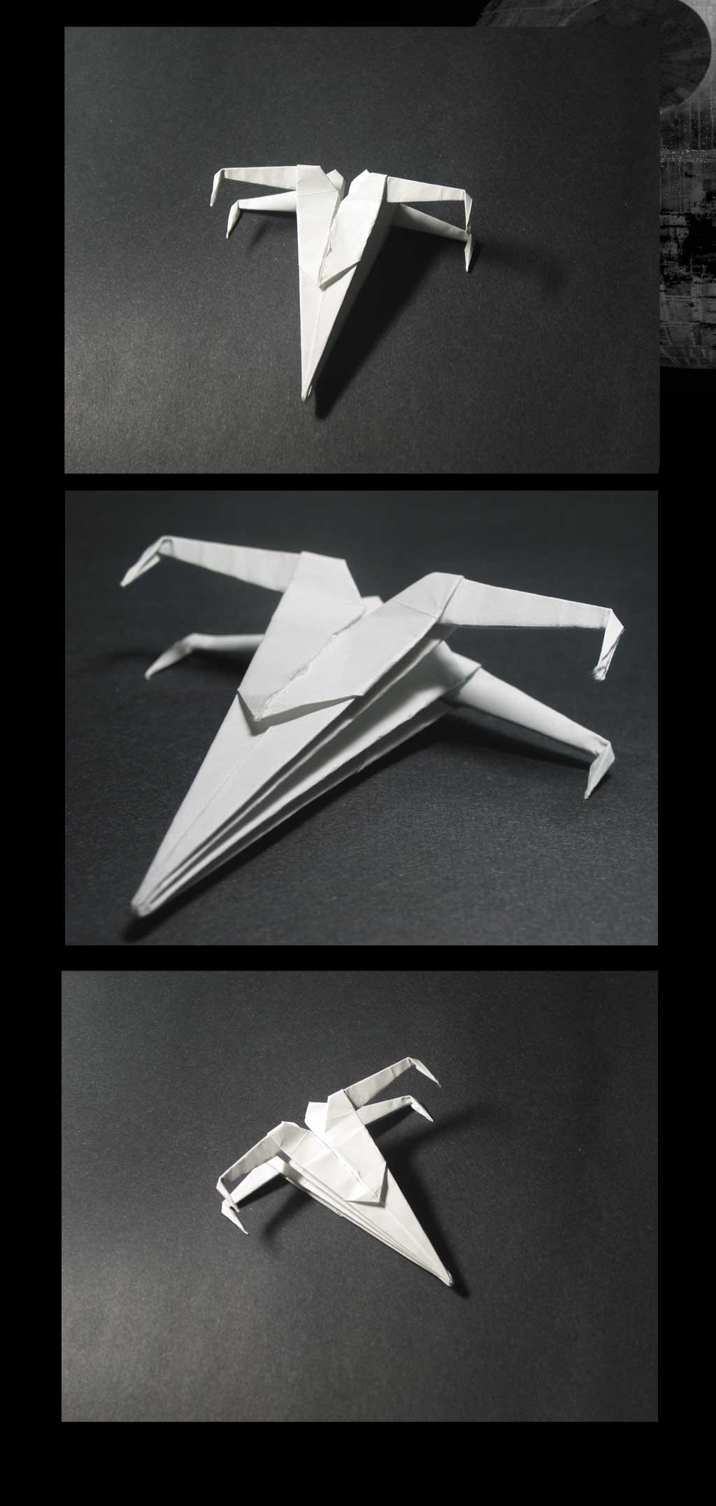 Origami - XWing by emailandthings