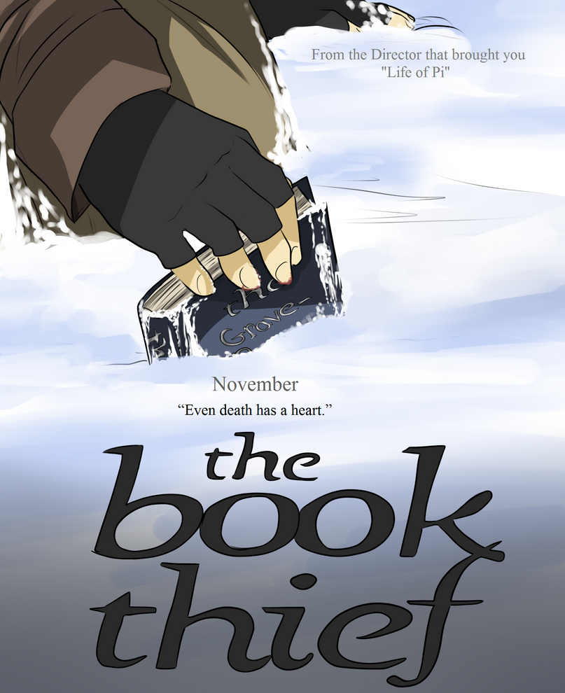 Book Thief Cover Art ~ The book thief fake movie poster by lozey on deviantart
