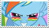 Dashy stamp