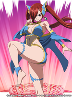 Erza Celestial Armor by LordCamelot2018