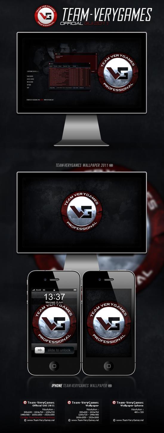 Pack Team-VeryGames 2011 by nyukdesign