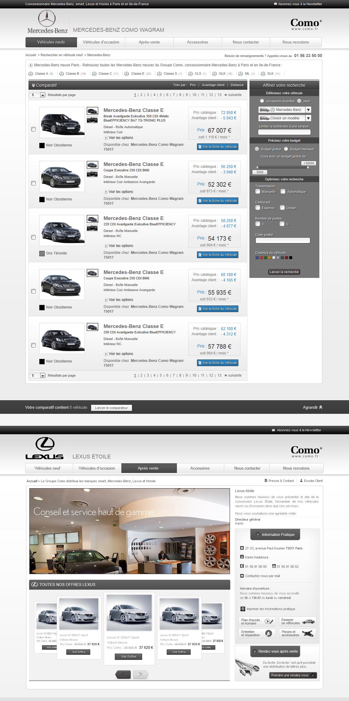 Car Dealer website by nyukdesign