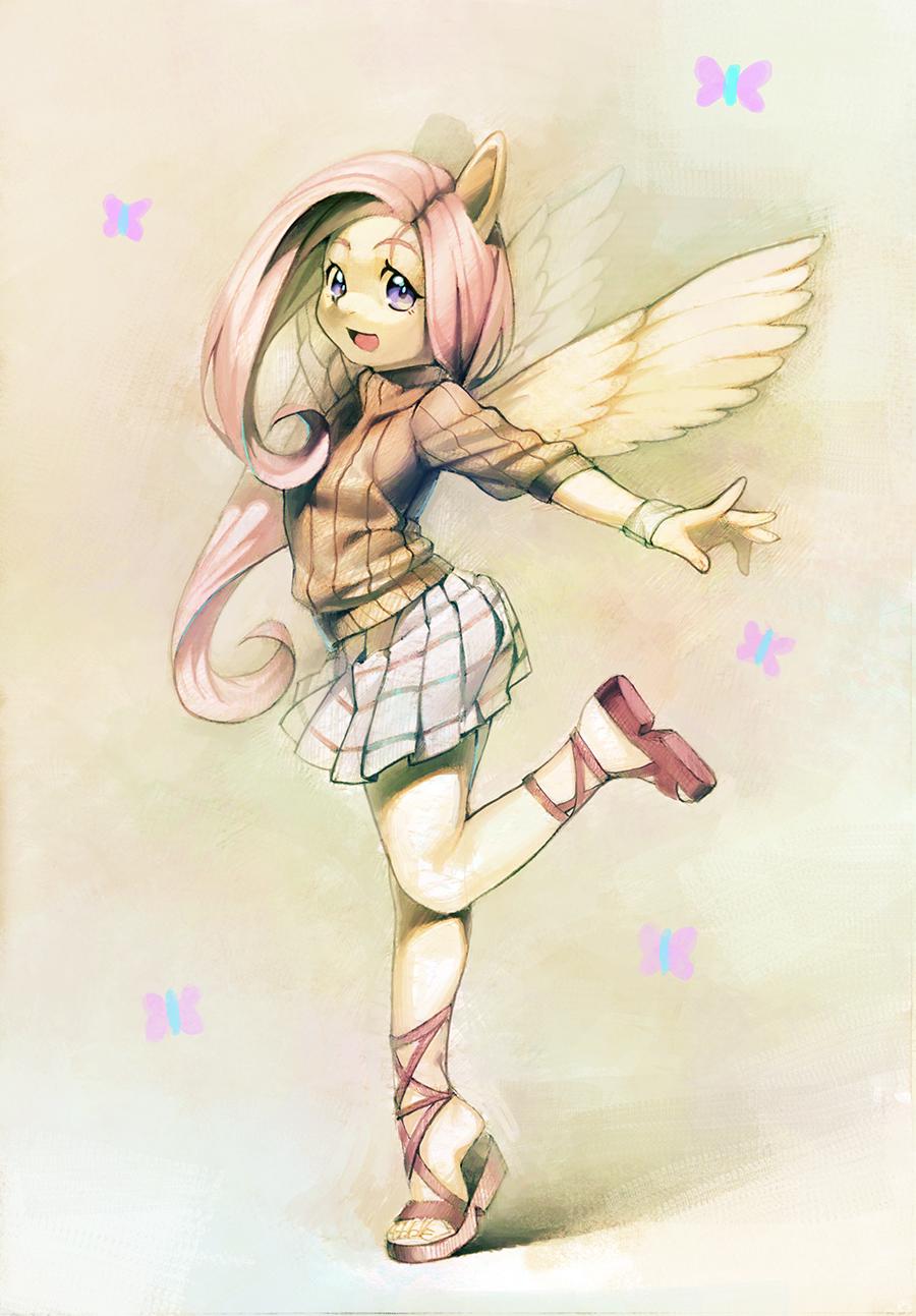 Fluttershy by aruurara