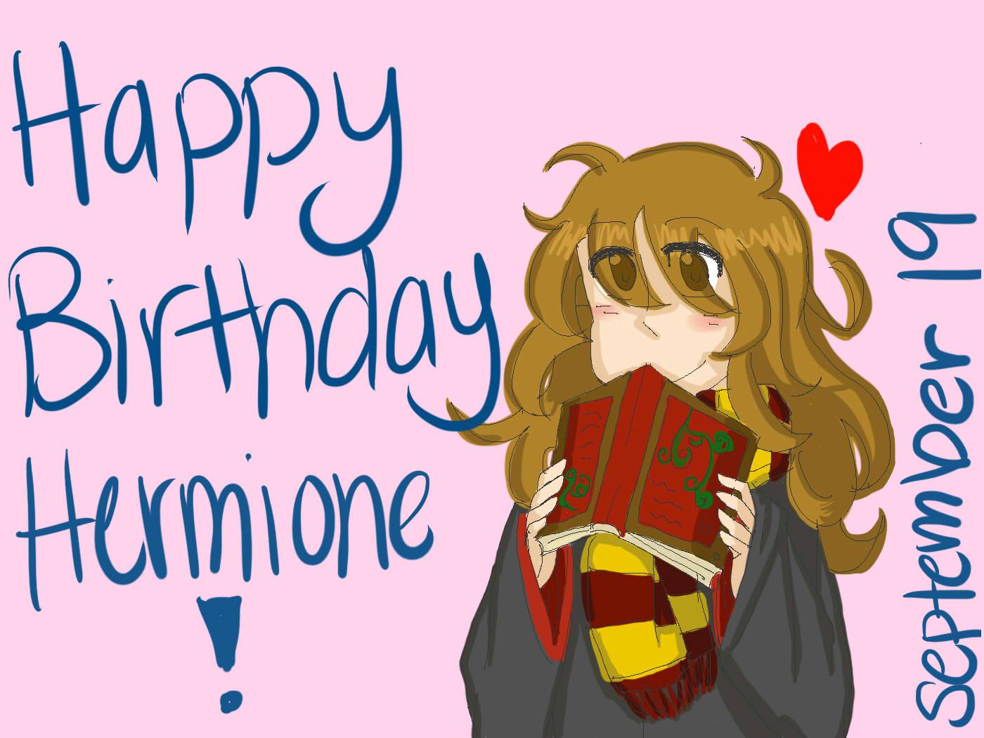 happy birthday hermione by - photo #5
