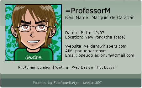 ProfessorM's Profile Picture