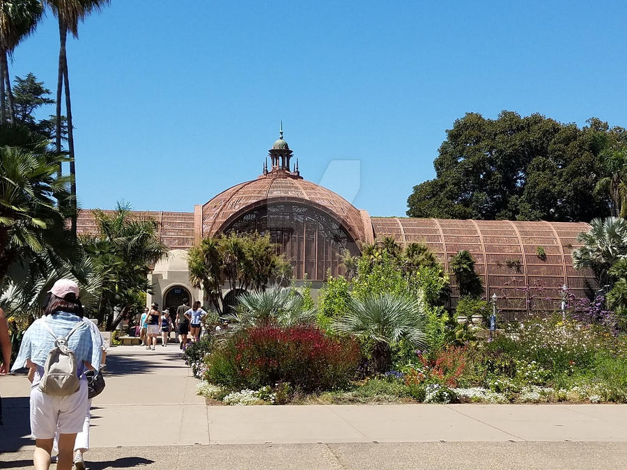 Balboa Park Botanical Garden By CosmicalSansation ...