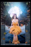 Autum angel by notoiara