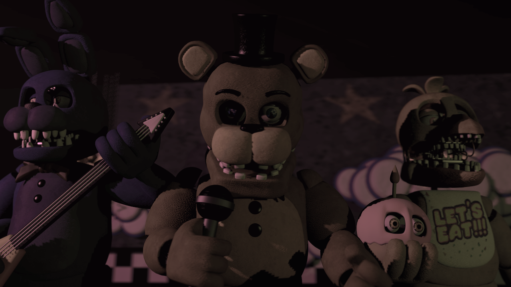 (SFM)We have been used to make children happy by SpringBonnieNotTrap