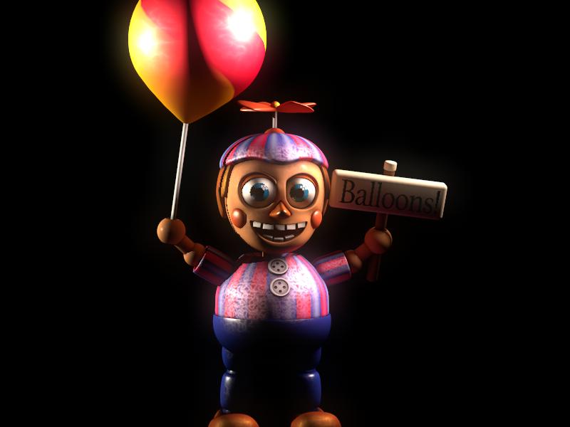 (C4D) Balloon Boy by SpringBonnieNotTrap