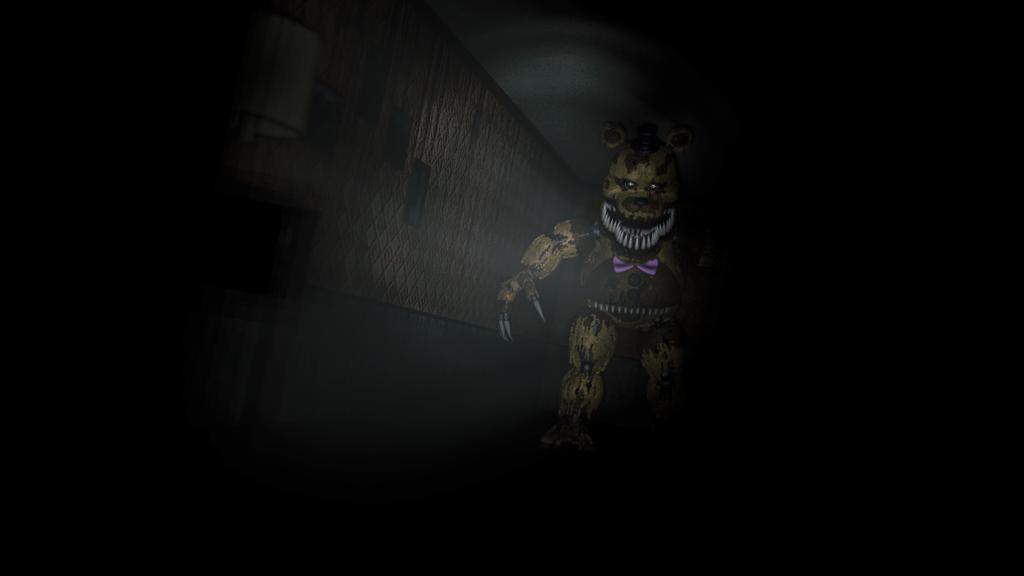 (SFM)Fredbear Nightmare by SpringBonnieNotTrap