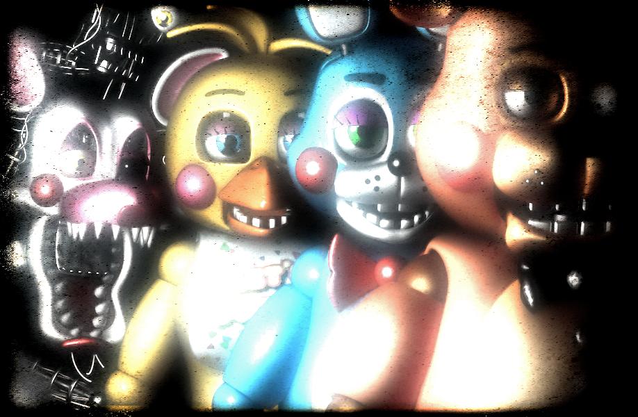 (C4D)The Toys by SpringBonnieNotTrap