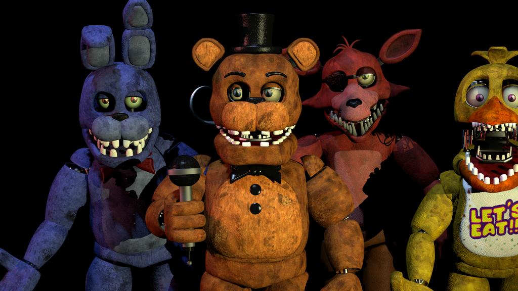 (SFM)UnWithered Poses by SpringBonnieNotTrap