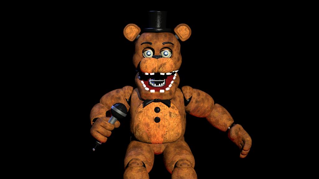 (SFM)Unwithered Freddy by SpringBonnieNotTrap