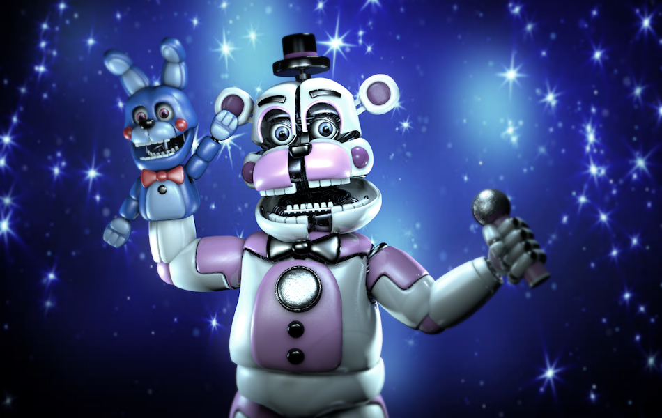 (C4D)Super Bear Star by SpringBonnieNotTrap