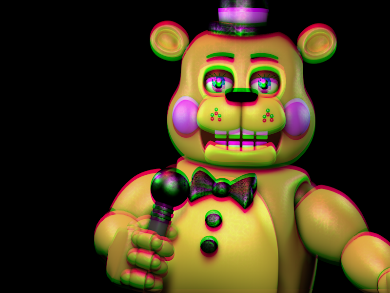 (C4D)ToyBear by SpringBonnieNotTrap