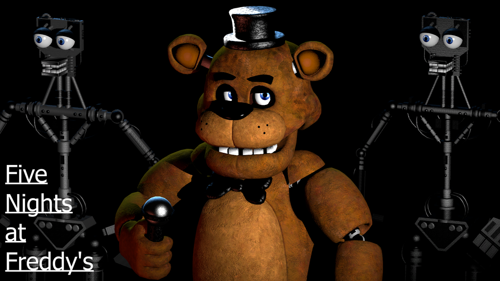 (SFM)Fazbear Is Here by SpringBonnieNotTrap