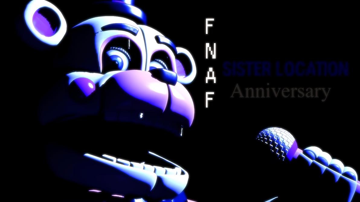 (SFM)FNaF Sister Location Anniversary by SpringBonnieNotTrap