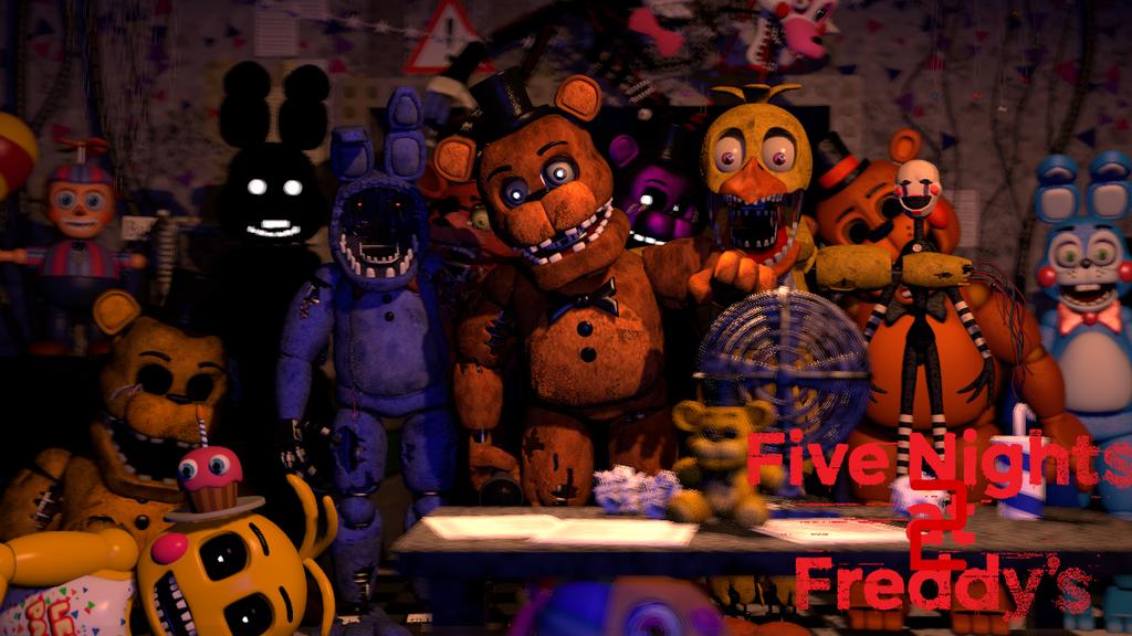 (SFM)Five Nights at Freddy's 2 by SpringBonnieNotTrap