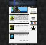 Minecraft webdesign