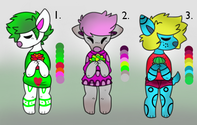 CHEAP 5 POINT ADOPTS (CLOSED)