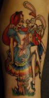Jessica In Wonderland Tattoo