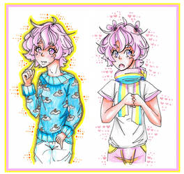 Outfits for My OC Adrien by Eloylie