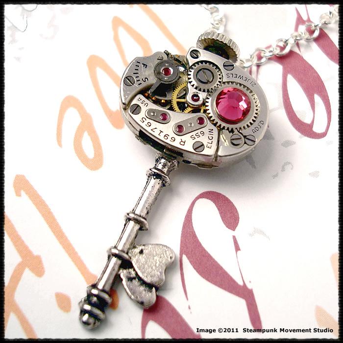 Steampunk Key of Hearts 011 by SoulCatcher06
