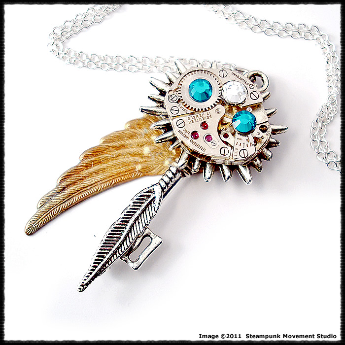 Steampunk Tribal Warlock Key by SoulCatcher06