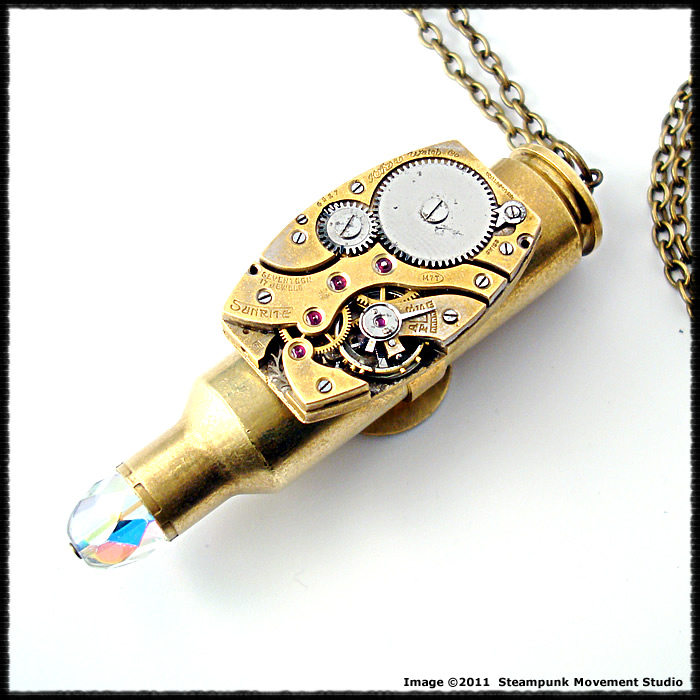 Steampunk bullet pendant by soulcatcher06 on deviantart steampunk bullet pendant by soulcatcher06 mozeypictures Gallery