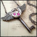 Steampunk Roman God Key
