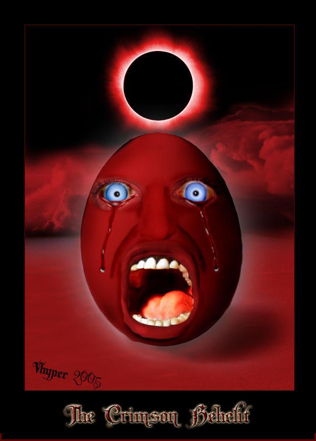 The Crimson Behelit By Berserk Club