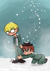 Wintertime love by Janbearpig