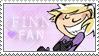 Warrior-U: Finn Stamp by Janbearpig