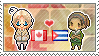 Stamp: CanadaxCuba by Janbearpig
