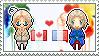 Stamp: CanadaxFrance