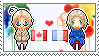 Stamp: CanadaxFrance by Janbearpig