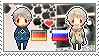 Stamp: PrussiaxRussia by Janbearpig