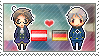 Stamp: AustriaxPrussia by Janbearpig