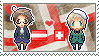 Stamp: AustriaxSwitzerland