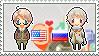 Stamp: USxRussia by Janbearpig