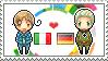 Stamp: ItalyxGermany