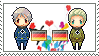 Stamp: PrussiaxGermany by Janbearpig
