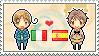 Stamp: ItalyxSpain by Janbearpig