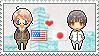Stamp: USxJapan by Janbearpig